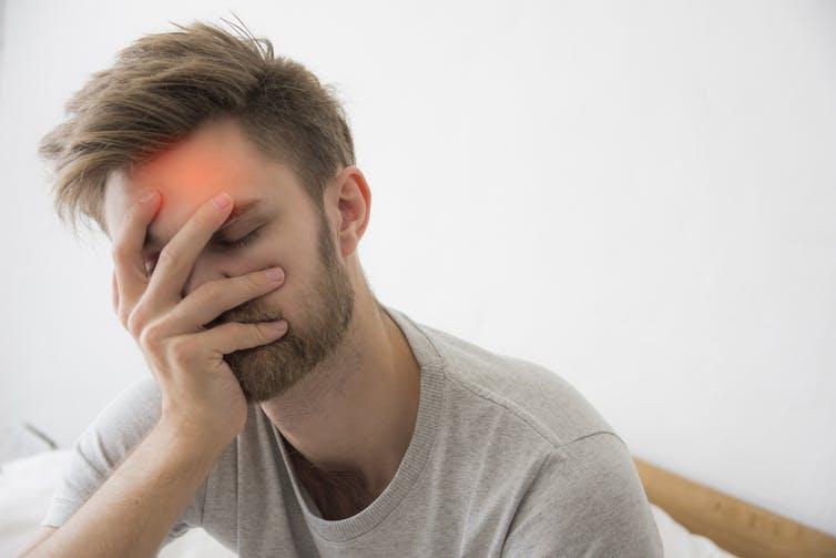 Stres migrenlere neden olabilir.