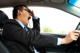 Uykusuz yola çıkmak kazalara neden olabilir.